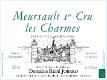 Domaine Rémi Jobard Meursault Premier Cru Charmes - label