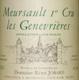 Domaine Rémi Jobard Meursault Premier Cru Genevrières - label