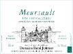 Domaine Rémi Jobard Meursault Les Chevalières - label