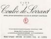 Coulée de Serrant (Nicolas Joly) Coulée de Serrant - label
