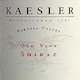 Kaesler Old Vine Shiraz - label