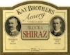 Kay Brothers Amery Vineyards Block 6 Shiraz - label