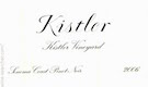 Kistler Vineyards Pinot Noir - label