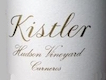 Kistler Vineyards Hudson Vineyard Chardonnay - label