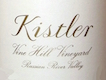 Kistler Vineyards Vine Hill Vineyard Chardonnay - label