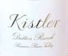 Kistler Vineyards Dutton Ranch Chardonnay - label