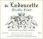 Domaine de Ladoucette  - label