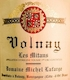 Domaine Michel Lafarge Volnay Premier Cru Les Mitans - label