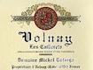 Domaine Michel Lafarge Volnay Premier Cru Les Caillerets - label