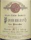 Domaine Michel Lafarge Pommard Premier Cru Les Pézerolles - label