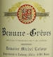 Domaine Michel Lafarge Beaune Premier Cru Grèves - label