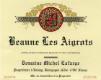 Domaine Michel Lafarge Beaune Premier Cru Les Aigrots - label