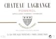 Château Lagrange (Pomerol) Jean-Pierre Moueix  - label