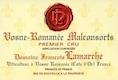 Domaine François Lamarche Vosne-Romanée Premier Cru Aux Malconsorts - label