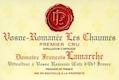 Domaine François Lamarche Vosne-Romanée Premier Cru Les Chaumes - label
