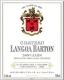 Château Langoa Barton  Troisième Cru - label