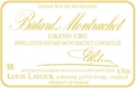 Maison Louis Latour Bâtard-Montrachet Grand Cru  - label