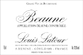 Maison Louis Latour Beaune Blanc - label