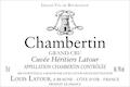 Maison Louis Latour Chambertin Grand Cru Cuvée Héritiers Latour - label