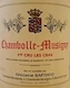 Domaine Ghislaine Barthod Chambolle-Musigny Premier Cru Les Cras - label