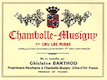Domaine Ghislaine Barthod Chambolle-Musigny Premier Cru Les Fuées - label
