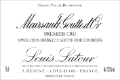 Maison Louis Latour Meursault Premier Cru Les Gouttes d'Or - label