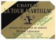 Château Latour-Martillac Blanc Cru Classé de Graves - label