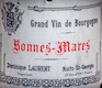 Dominique Laurent Bonnes-Mares Grand Cru  - label