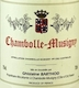 Domaine Ghislaine Barthod Chambolle-Musigny  - label