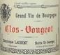 Dominique Laurent Clos de Vougeot Grand Cru  - label