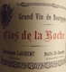 Dominique Laurent Clos de la Roche Grand Cru  - label