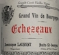 Dominique Laurent Echezeaux Grand Cru  - label