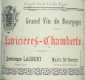 Dominique Laurent Latricières-Chambertin Grand Cru  - label