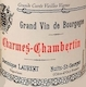 Dominique Laurent Charmes-Chambertin Grand Cru Vieilles vignes - label