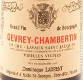 Dominique Laurent Gevrey-Chambertin Lavaux Saint-Jacques Vieilles Vignes - label