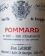 Dominique Laurent Pommard Premier Cru Les Charmots - label