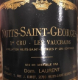 Dominique Laurent Nuits-Saint-Georges Premier Cru Les Vaucrains - label
