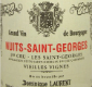 Dominique Laurent Nuits-Saint-Georges Premier Cru Les Saints-Georges Vieilles Vignes - label
