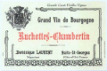 Dominique Laurent Ruchottes-Chambertin Grand Cru  - label