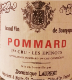 Dominique Laurent Pommard Premier Cru Les Epenots - label