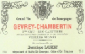 Dominique Laurent Gevrey-Chambertin Premier Cru Les Cazetiers - label