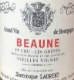 Dominique Laurent Beaune Premier Cru Grèves - label