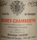 Dominique Laurent Gevrey-Chambertin Vieilles vignes - label