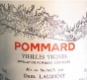 Dominique Laurent Pommard Vieilles vignes - label