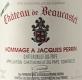 Château de Beaucastel Châteauneuf-du-Pape Hommage à Jacques Perrin - label