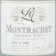 Lucien Le Moine Montrachet Grand Cru  - label