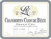 Lucien Le Moine Chambertin Clos de Bèze Grand Cru  - label