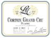Lucien Le Moine Corton Grand Cru Blanc - label
