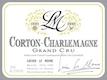 Lucien Le Moine Corton-Charlemagne Grand Cru  - label
