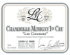Lucien Le Moine Chambolle-Musigny Premier Cru Les Charmes - label